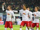 Vollgas, Rochade, Vollgas: RB Leipzig optimiert seinen Intensiv-Fußball