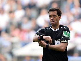 Unbeeindruckt: Manuel Gräfe.