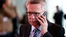 """De Maizière zieht Bilanz: """"Erfolgreichste Legislatur seit Langem"""""""