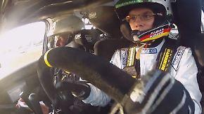 Hitzeschlacht bei Sachsen-Rallye: Fabian Kreim brilliert im Skoda R5
