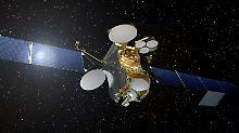 Strom von Solarpanels: Satellit komplett elektrisch unterwegs