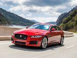 Mit den neuen Vierzylinder-Triebwerken schließt Jaguar die Lücken beim XE udn XF.