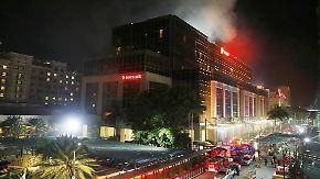 Dutzende Tote in Manila: Mann schießt in Hotelanlage um sich und legt verheerenden Brand