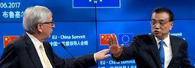 Keine gemeinsame Klimaerklärung: EU und China sind noch uneins