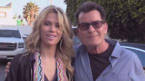 Promi-News des Tages: Charlie Sheen präsentiert neue Freundin