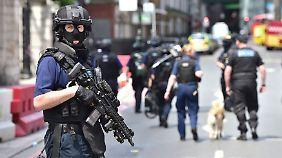 Sechs Tote, dutzende Verletze: Bewaffnete Männer stürmen Londoner Ausgehviertel