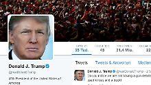 """""""Wenn wir nicht klug werden"""": Trump nutzt Anschlag für Twitter-Sturm"""