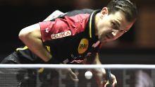 Timo Boll ist bereits 36 Jahre, aber immer noch der absolute Superstar der deutschen Tischtennisspieler.