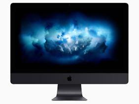Der neue iMac Pro ist eine Hochleistungsmaschine.