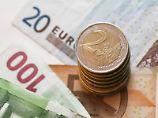 Euromünzen und -scheine