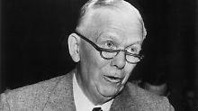 Vater des US-Aufbauplans für Westeuropa: George C. Marshall (1880-1959).