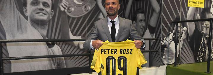 """Vorfreude auf """"Gelbe Wand"""": Peter Bosz trainiert den BVB"""