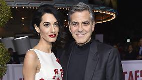 Babyglück im Hause Clooney: George und Amal begrüßen Zwillinge