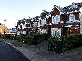 Leerstand in Castlemoyne im Norden Dublins. Die irische Krise begann als Immobilienblase.