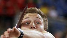 Mit dem letzten Wurf zum Sieg: Olympiasieger Röhler ist bereits in WM-Form