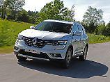 Das Gesicht des neuen Renault Koleos fügt sich ein in die neue Design-Richtlinie der Marle.