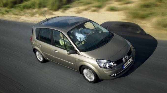 Der Renault Scenic ist günstig, aber nicht immer zuverlässig.