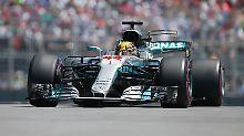 Schumacher-Rekord egalisiert: Hamilton holt Pole Position in Kanada