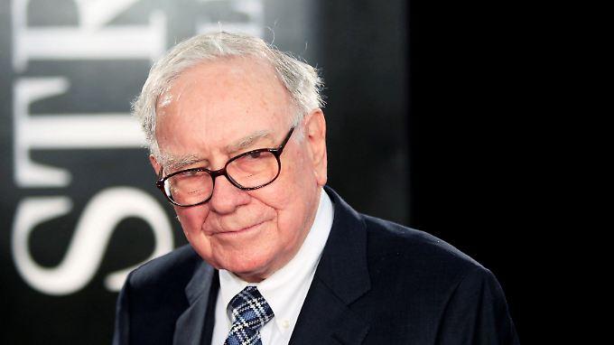 Milliardär und Starinvestor Warren Buffett spendet die Hälfte seines  Vermögens.