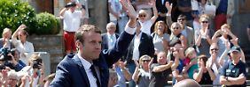 Beispiellose Umwälzung: Macrons Lager gewinnt erste Wahlrunde