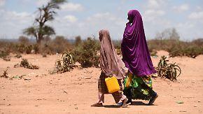 Seit vier Jahren kein Regen: Dürre treibt immer mehr Somalier in die Flucht