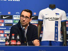 Hertha-Manager Preetz will die Leistungsträger seines Klubs halten.