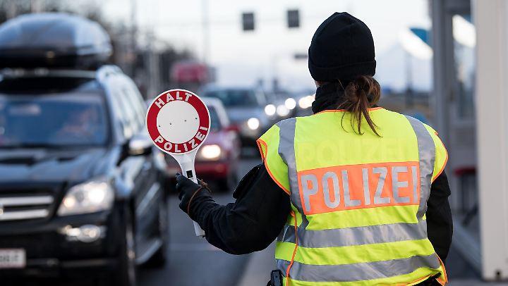 An der deutsch-österreichischen Grenze gibt es seit September 2015 wieder Kontrollen.