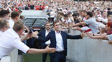 Hannes Wolf ist in Stuttgart beliebt und erfolgreich. Mit 36 Jahren führte er den VfB zurück in die Bundesliga.