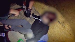 Bilder der Befreiung veröffentlicht: US-Polizei findet in Container angekettetes Entführungsopfer