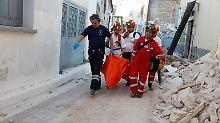 Viele Schäden in Inseldorf: Frau aus Lesbos stirbt bei Seebeben