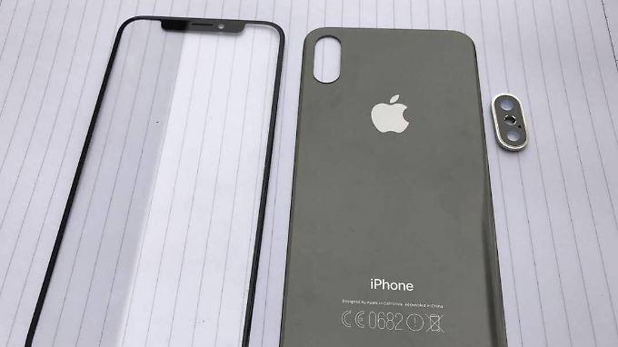 Bei Reddit gibt's neue Bilder vom iPhone 8.