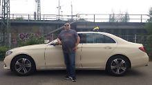 Ist stolz auf sein eigenes Taxi: Selçuk