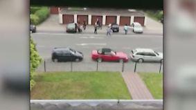 Vier Verletzte, zehn Festnahmen: Anwohner filmen Schießerei bei Recklinghausen