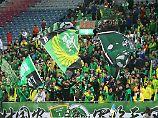 Die Fans von Beijing Guoan sind in der chinesischen Liga einzigartig.