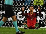 Cristiano Ronaldo am Boden? Dem Stürmer drohen bis zu sieben Jahre Haft.
