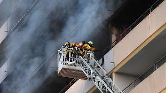 In der Feuerfalle: So entkommt man einem Hochhaus-Inferno