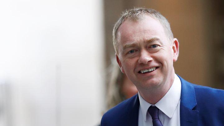 Tim Farron, Chef der britischen Liberaldemokraten, will sein Amt nur noch bis zur Sommerpause ausüben.
