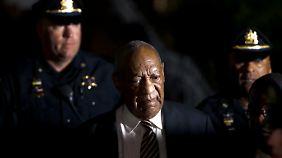 Weiter kein Urteil: Cosby drohen bei Schuldspruch bis zu 30 Jahre Haft