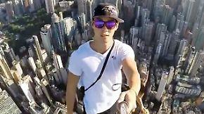Unten Stress, oben Freiheit: Junge Hongkonger suchen den Kick in luftiger Höhe