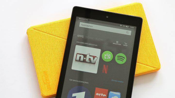 Das Fire HD8 zeigt, was man von einem 100-Euro-Tablet erwarten kann: nicht viel.