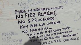 """""""Es gab keinen Feueralarm"""": Hochhausbrand-Überlebende berichten über eklatante Mängel"""