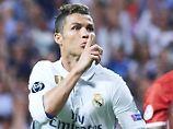 Beleidigt: Cristiano Ronaldo.