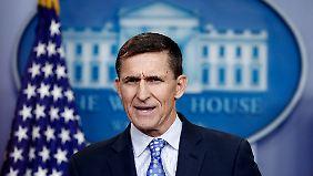 Mike Flynn war nur drei Wochen lang Nationaler Sicherheitsberater von US-Präsident Trump.