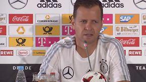 """Oliver Bierhoff zum Confed Cup: """"Erste Priorität ist es, die Mannschaft zu entwickeln"""""""