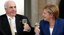 """Angela Merkel über Helmut Kohl: """"Ich verneige mich vor seinem Angedenken"""""""