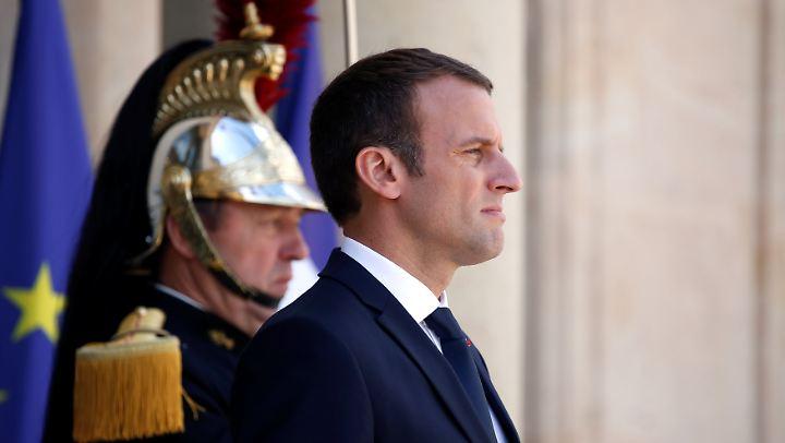 Frankreichs Präsident Emmanuel Macron kann auf eine Rekord-Mehrheit für seine Partei hoffen.