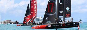 Gespür für den Wind: Neuseeland legt im America's Cup vor
