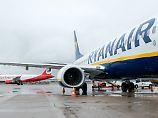 Ryanair fliegt derzeit den Berliner Flughafen Schönefeld an.