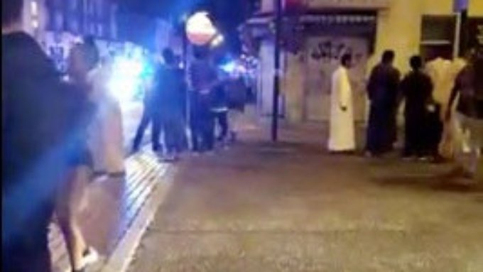 Ein Video zeigt die Festnahme des Angreifers.