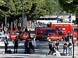 """""""Anschlagsversuch"""" in Paris: Auto rammt Polizeifahrzeug - Fahrer tot"""